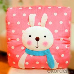 Cushion Pillow with Cute Design Painting