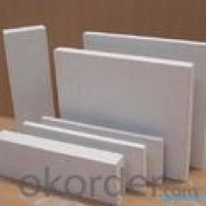Ceramic Fiber Board applied for insulation for fireplaces