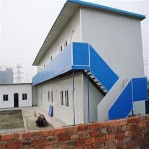 2Capa Modular y Cas de Estructura de Acero Ligero Prefabricada Modular y Casa