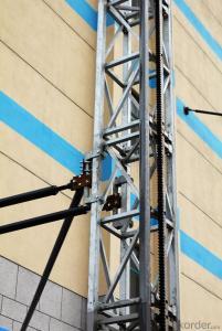 Single Mast Climbing Work Platform for Working Height 1000 kg  100 m