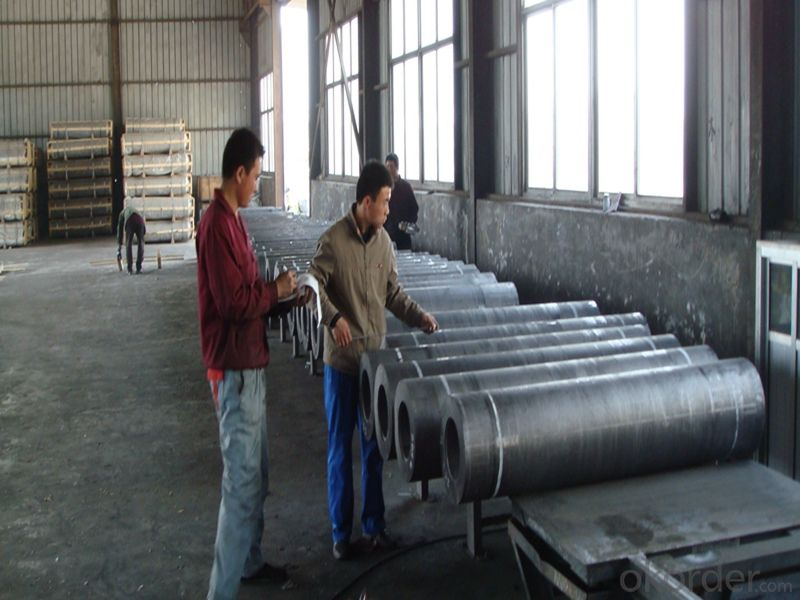 Graphite Electrode with Grade RP HP UHP  Dia.40-600mm