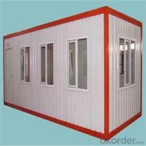 Modular Steel House Outdoor Shed For Coffee Bar/Restaurant