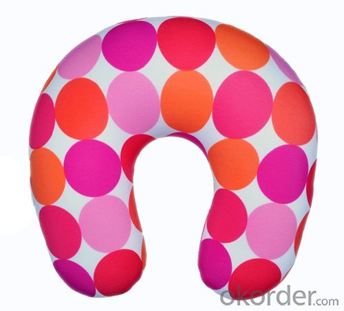 Most Comfortable Beads Pillow With Pink Point Pattern