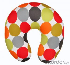 Most Comfortable Neck Cushion With Point Pattern