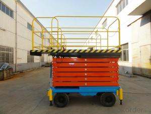 Mobile Elevated Aerial Work Platform SJY 0.5 4500 / 7500 / 11000 / 12000 mm