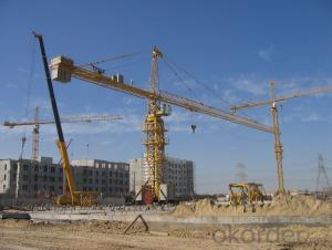 TC7050 tower crane/ tower crane with CE ISO certificate