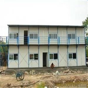 Prefab Sandwich Panel Container Bathroom , Light Steel Frame Container Living House