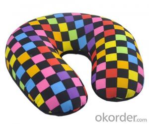 Polystyrene Beads Neck Pillow Great For Travel