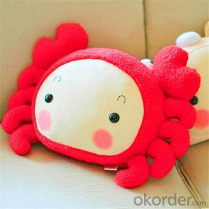 Beads Cushion Pillow with Animal Shape