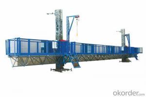 Double Mast Climbing Work Platform STC100 with 8.3 m/min 4 × 5.5 kW