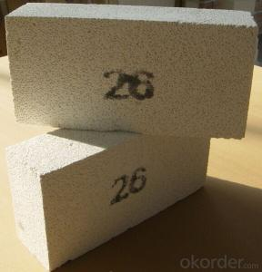 Clay brick of refractory brick for stove