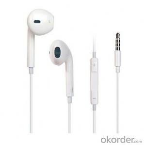Handsfree Stereo Earphones Earbuds with Remote and Microphone New Design