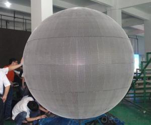 LED Ball Shape Led Advertising Display Indoor and Outdoor P10