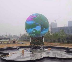 Sphere Ball Led Display Perfect vision Effect Full Color in China
