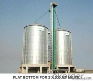 1000Ton-6000Ton Walnut Grain Storage Steel Silo