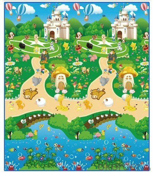 Soften Kid Plastic Play Mat with New Design