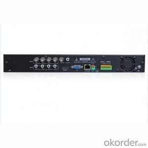 4 Channel CCTV DVR Digital Video Recorder D1 Recording with HI3520D Chipset