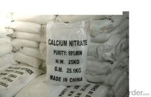 Calcium Nitrate Molecular weight with high quality  Manufactured By CNBM China