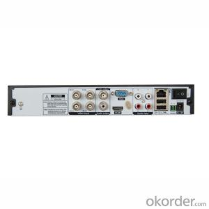4 Channel Standalone CCTV DVR Digital Video Recorder with D1 Recording