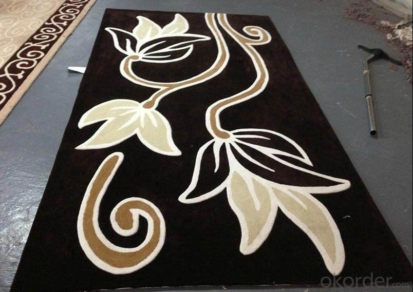 Hand Tufted Carpet with 100% Wool Materials