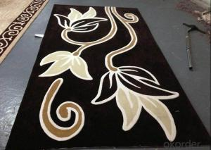 Hand Tufted Carpet with 100% Polypropylene Materials