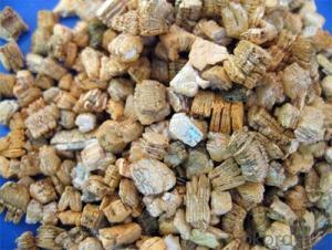 Medium and Fine Silver Exfoliated Vermiculite