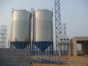 100TON- 5000TON soybean storage silo tank