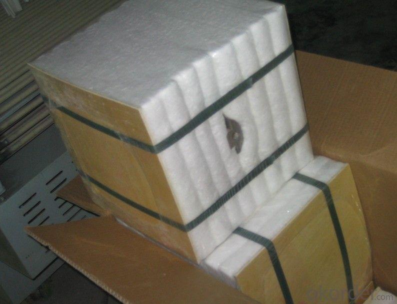 Módulo aislante témico para chimenea de fibra cerámica