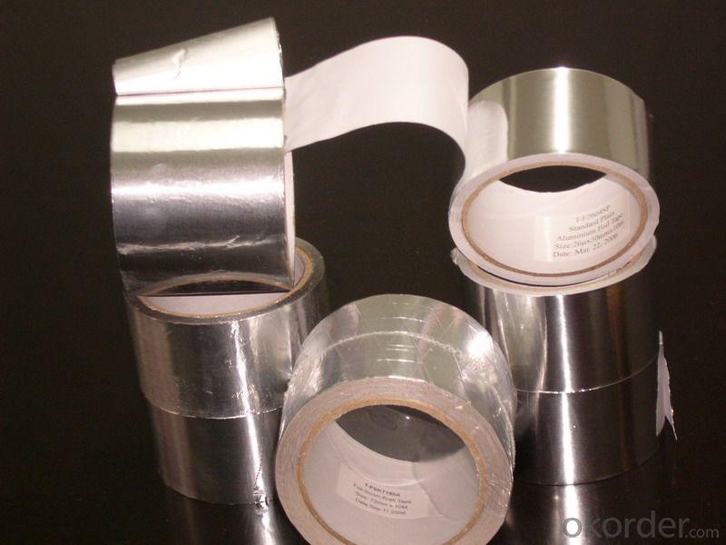 Double-Sided Reflective  Aluminum Foil Tapes Vapor Barrier   Foil-Scrim-Kraft Tapes