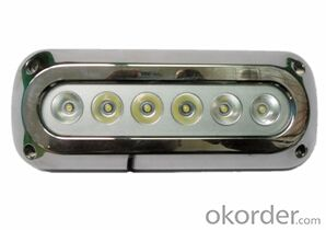 Led High Grade Waterproof Light for Under Fresh Water and Sea Water  with UD-180L-18W