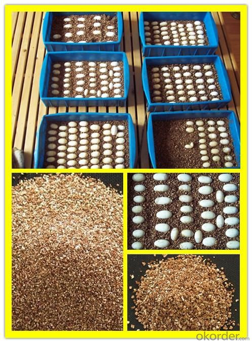 agriculture 0.3-1mm gold vermiculite