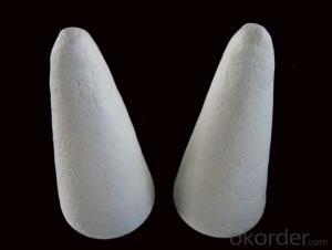 Ceramic Fiber Tap Out Cone of 1350 HA Type