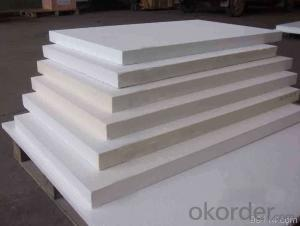Aluminum Silicate Ceramic fiber board for iron industry