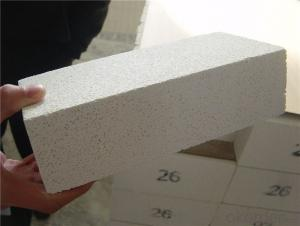 Light weight fire clay insulating fire brick