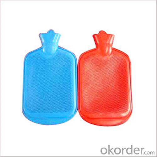 British Standard Hot Water Bottle 2000ml 2 Side Rip