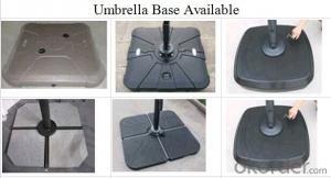 Outdoor Patio Metal Cantilever Garden Umbrella