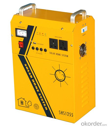55Ah Solar Power Generator Model SHS 1255