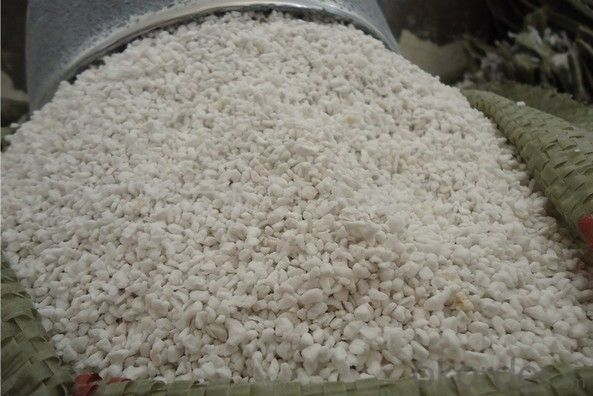 Expanded/ Exfoliated silver vermiculite fraction 1-2mm