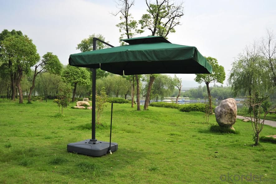 Roma 300cm Square Tilte Outdoor Umbrella