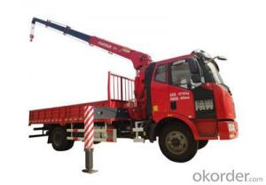 Changlin Brand Truck Mounted Crane with 12ton capactiy SQ12
