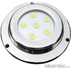 Led High Grade Waterproof Light for Under Fresh Water and Sea Water  with UD89-6W