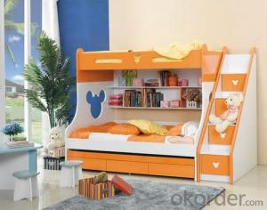 CMAX Wooden Children Beds with Guardrail
