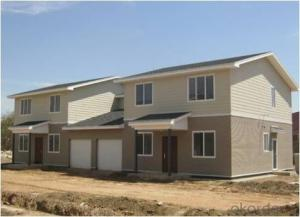 Prefabricated Plastic Homes with Low Price