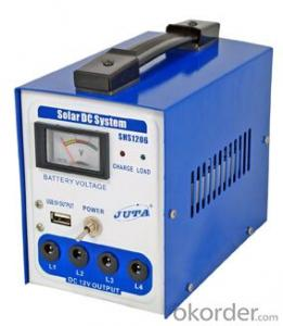 4Ah/ 6W Solar Home System for Lighting Model SHS1206