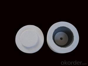 Ceramic Fiber Tap-out Cone of 1260 STD Type