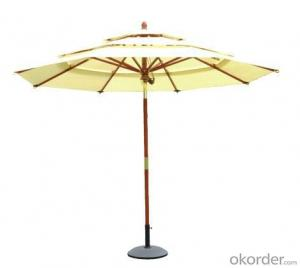 Outdoor Restaurant tilt Market Umbrella in White
