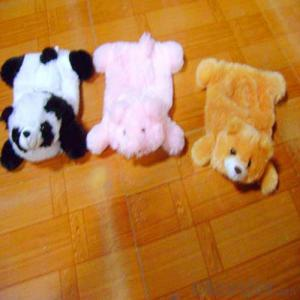 Diseny Cartoon Hot Water Bottle with Cover 2000ml 2 Side Rip