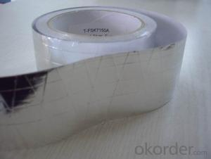 FOIL-SCRIM-KRAFT TAPE Double-Sided Reflective Aluminum Foil Insulation Aluminum Foil Tapes