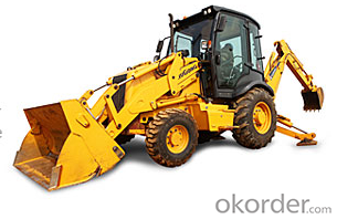 CMAX  LOADER SERIE - BACKHOE LOADER - 4CX - 17 super