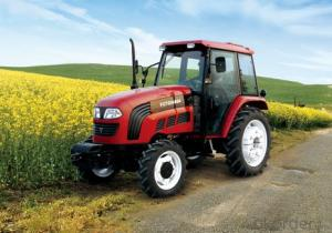 wheel tractor for argriculture reasonable price TE254F(flat floor)